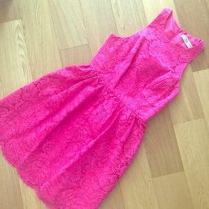Trunk Turk hot pink Parry dress